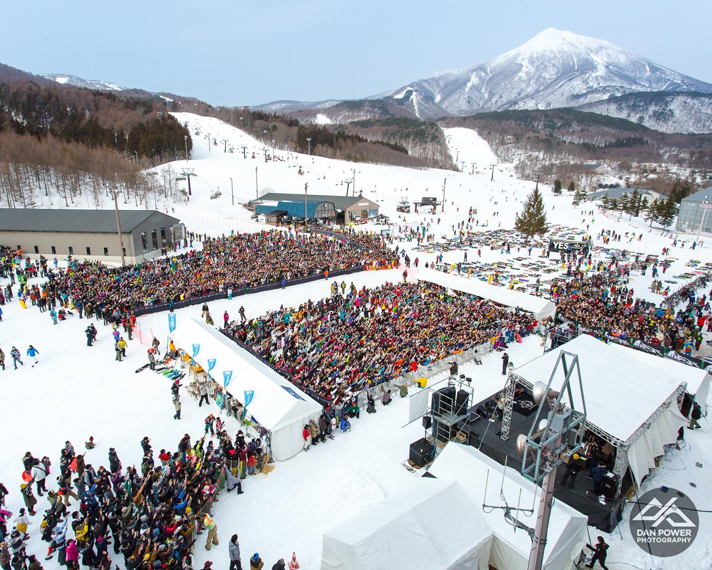 星野リゾートアルツ磐梯スキー場 2016年2月28日