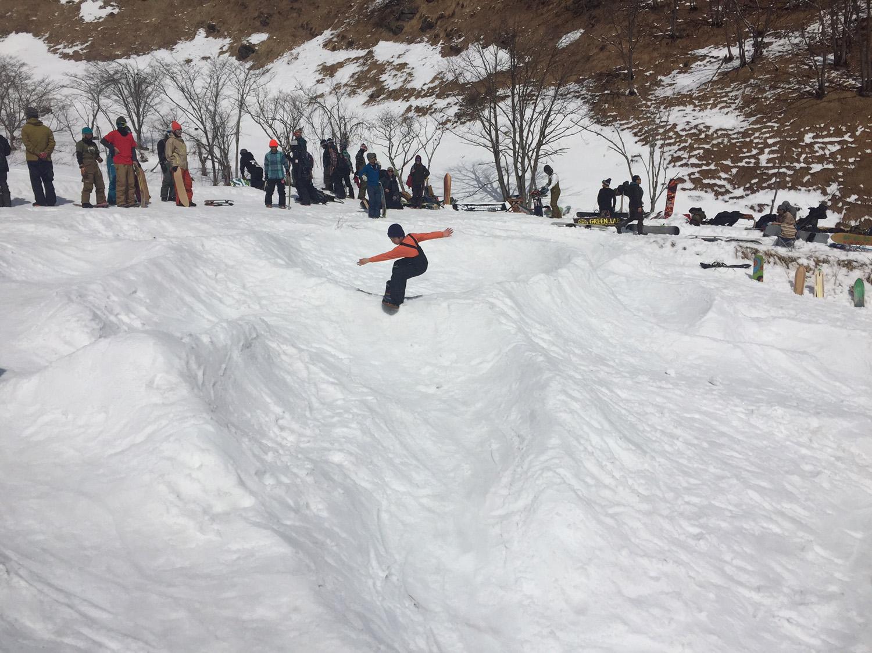 子供も雪板セッション