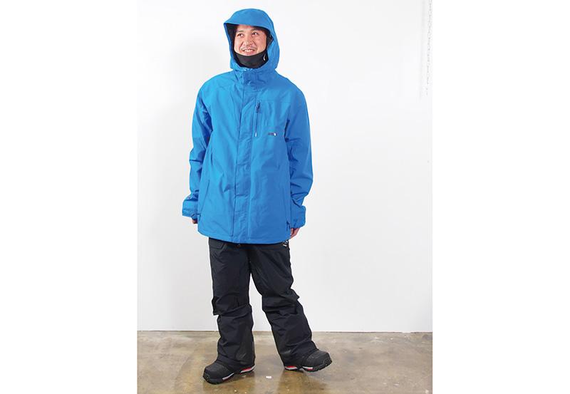"""ボルコム_L GOREシリーズ/ ハイスペックウエアの代表素材 """"GORE-TEX""""。着るエアコンと評されるその性能は、スノーボーディングそのものを快適に。"""