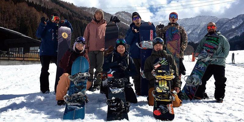 2017ツアー/ 野沢温泉スキー場でのツアーの模様です。今年は雪もたっぷりで非常に楽しかったとのこと。
