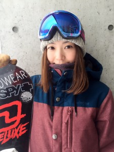 Rider: 三友亜沙子