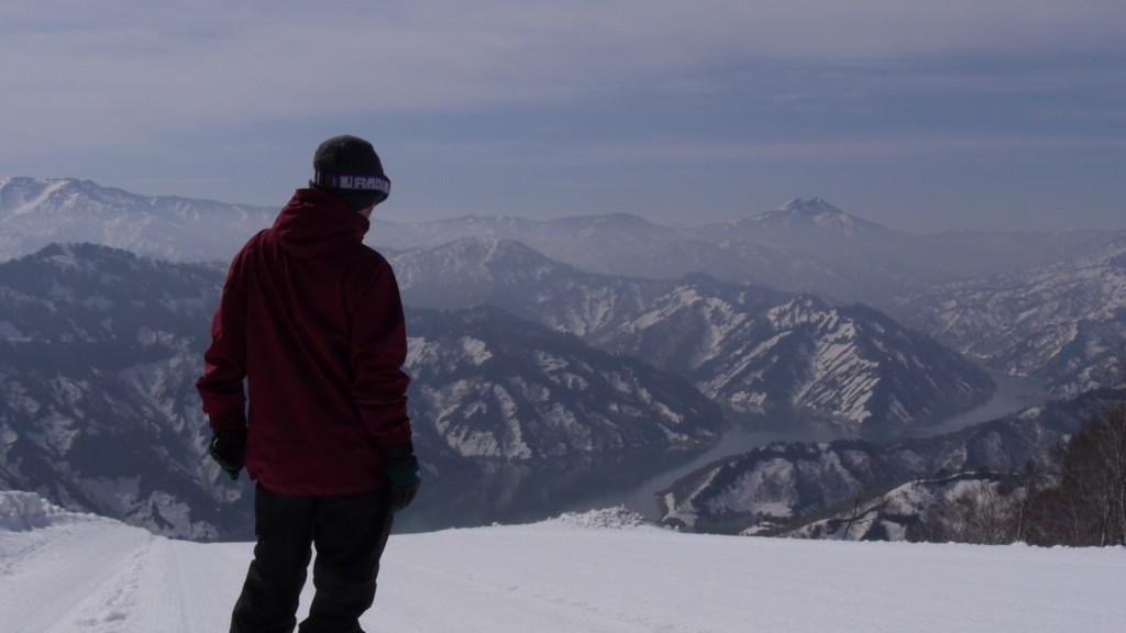 山頂からの景色もキレイ