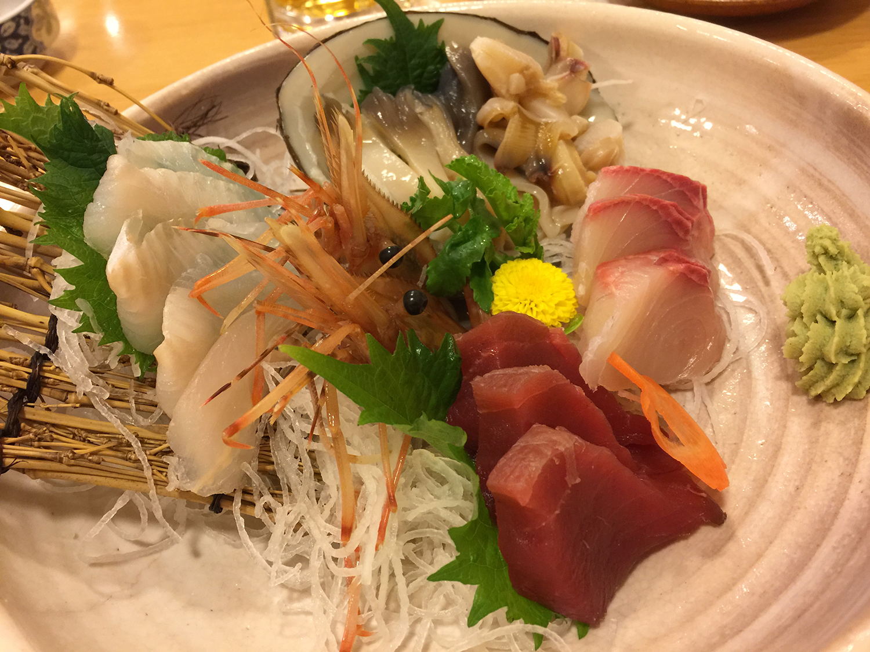 旨すぎる北海道のお刺身。こんなの食べたことない!の連発