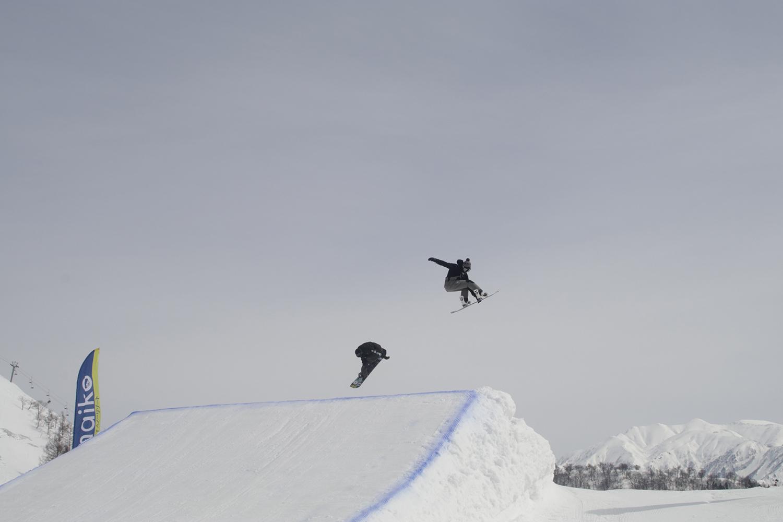 アグレッシブな滑りで決勝まで進んだヒザパッチ、リベンジは来年へ