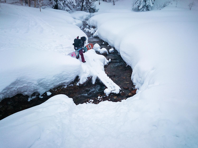 これがその川 Photo: Takahiro Nakanishi