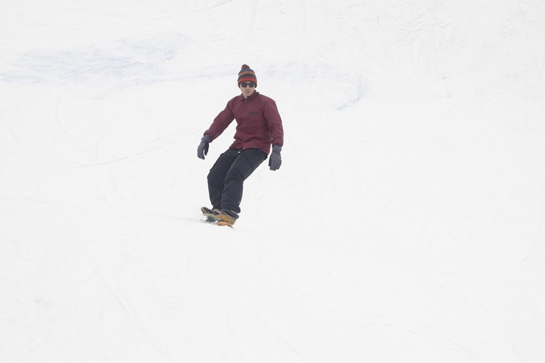 SNOW SKATEでこのセクションを攻めたツワモノも!
