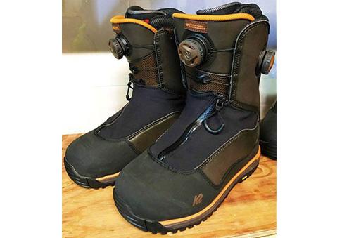 K2 Snowsurfer / Gentem代表玉井さんが自らデザイン、チューンを施し抜群の仕上がりに。究極のフリーラドブーツです。限定73,440円。