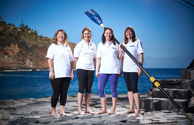 イギリス ヨークシャー州に住む、子供も夫もいる普通のお母さん4人組が大西洋3,000マイルを渡る世界でも最も過酷なボートレースに挑む