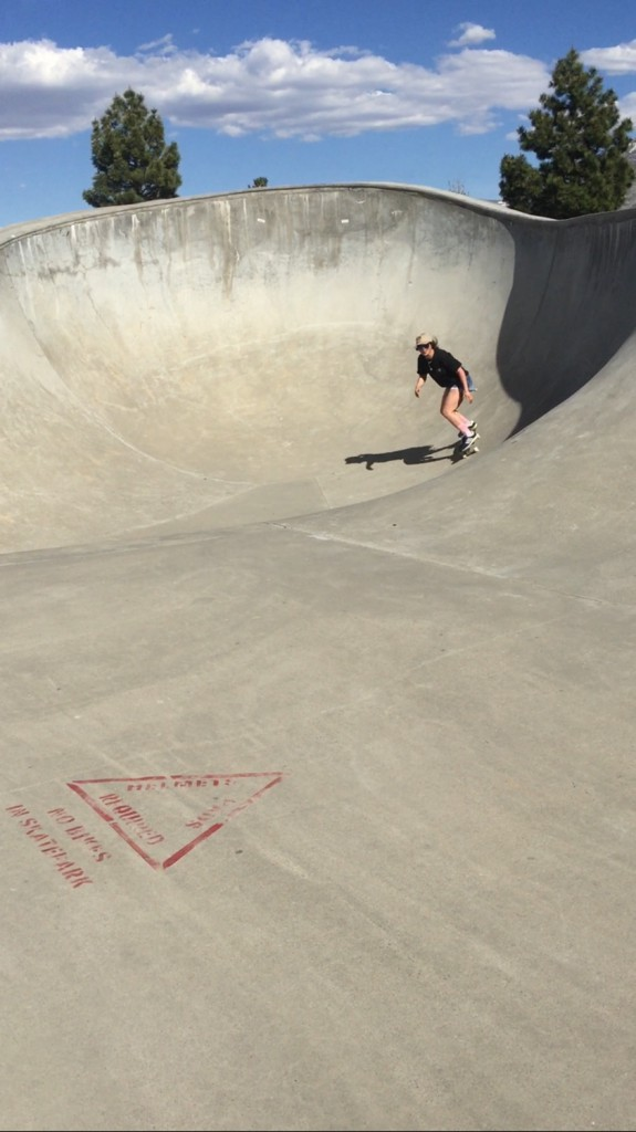 本場カリフォルニアでのスケートもオフトレーニングのひとつ