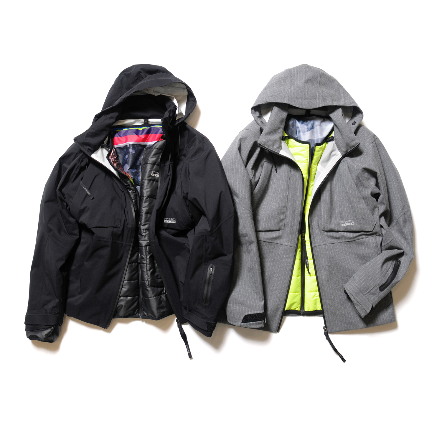 <2.5 LAYER SYSTEM MOUNTAIN PARKA> color : BLACK , GRAY  size : S , M , L , XL  price : 76,000 + TAX (BLACK) , 86,000 + TAX(GRAY)