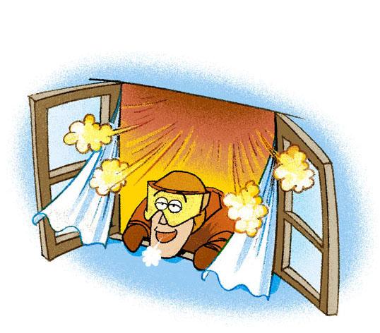 言わばLiving Lining™は、ライニングの布地の中に小さな窓を無数に備えたようなもの。熱気と湿気の効果的な放出が、快適さのポイントだ
