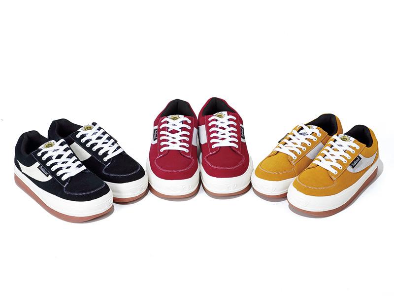 ESPRESSO Color: Black, Yellow, Red Size: 23.0~28.0cm Price: ¥16,800