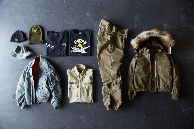 コレクションにはフェイスマスク、CAP、Tシャツなども登場する
