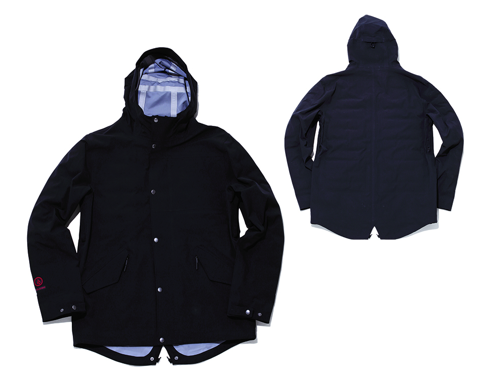 LANE TDS® PARKA  COLOR: BLACKのみ  SIZE: S~XL  PRICE: ¥39,000