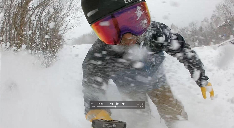 仙台市内は小雨だったんですが、スキー場は絶好の雪。CAPパウダーを美味しくいただきま〜す