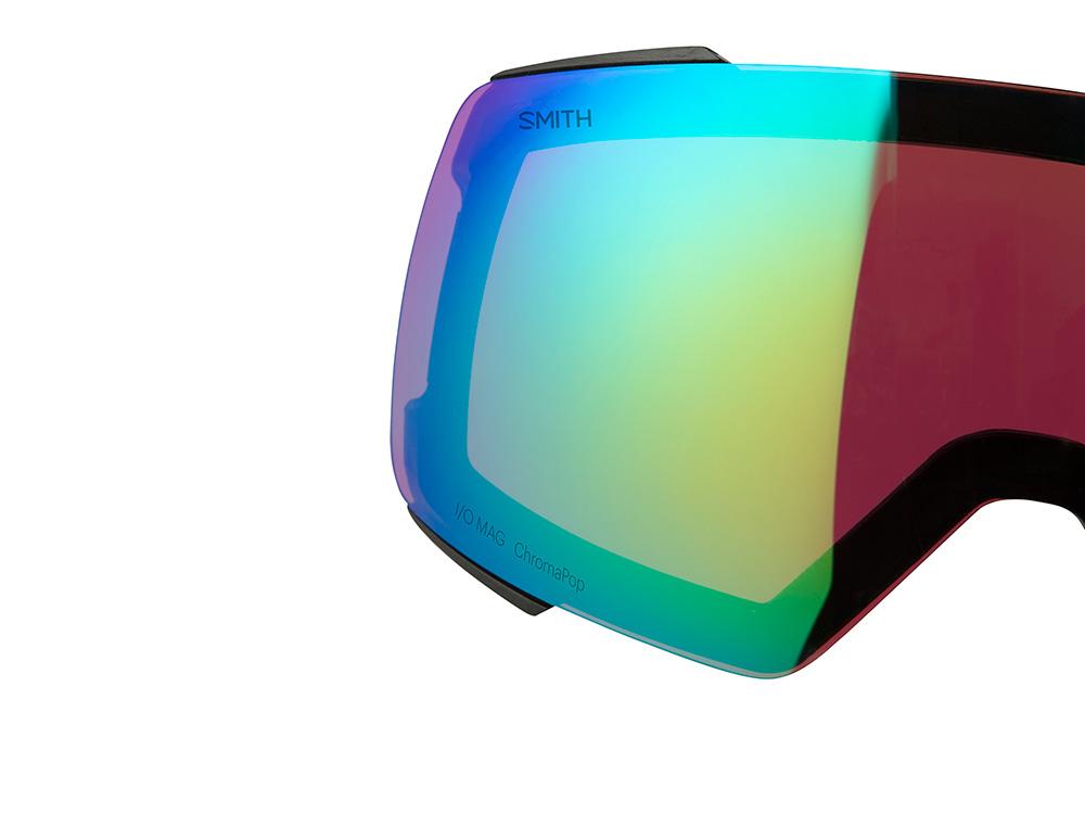「デザイン部分」 レンズの両端にあるプラスチックの保護グリップがレンズの着脱時に発生する傷を防ぐ