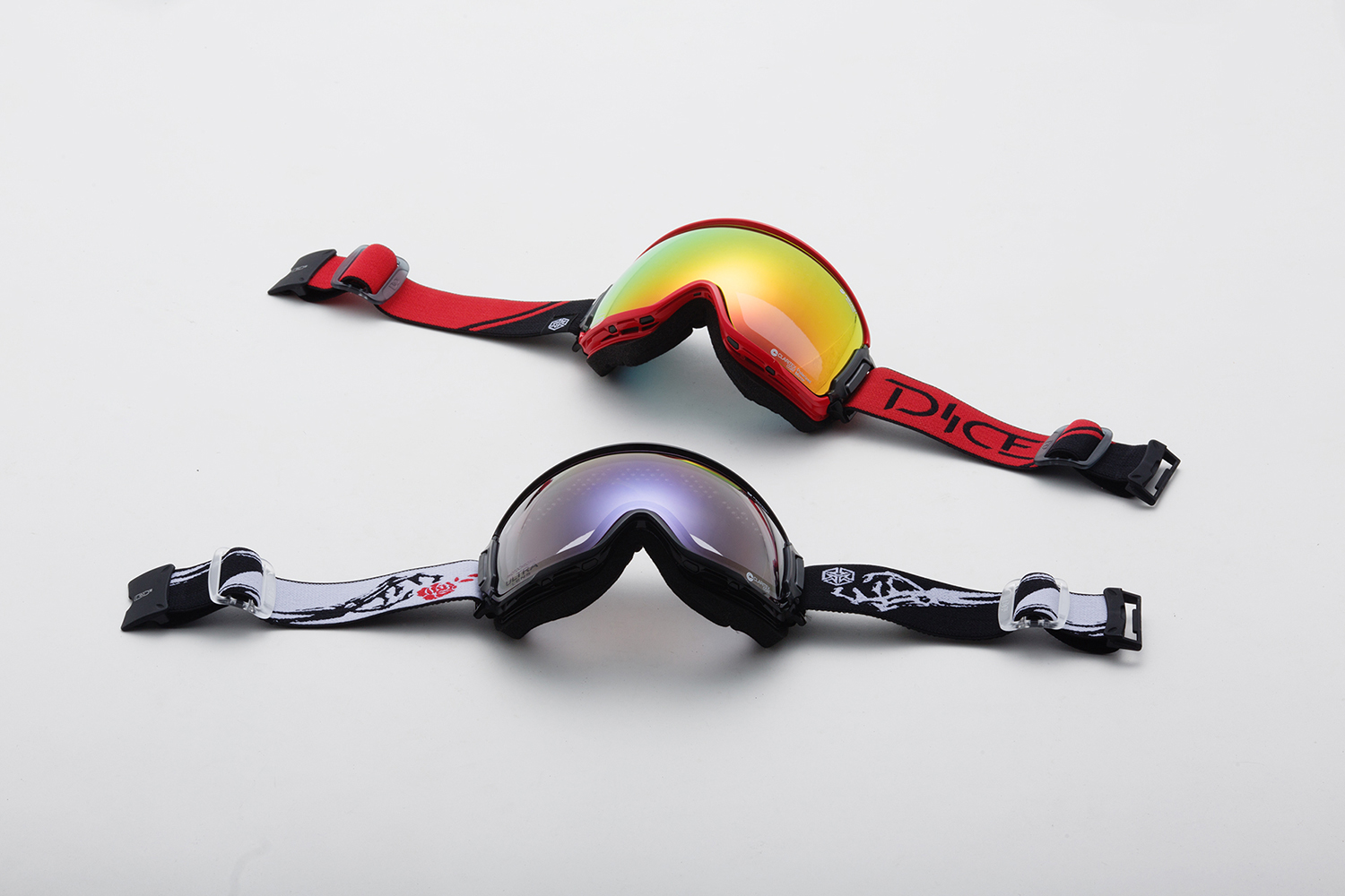 (上)BANK MIT Red / Pola Gray:BK80892R (下)BANK Photochromic / Ice mirror / ULTRA Light Purple:BK54265BKW