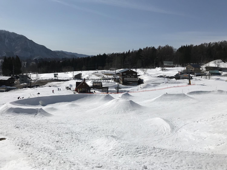 スノーボードコース