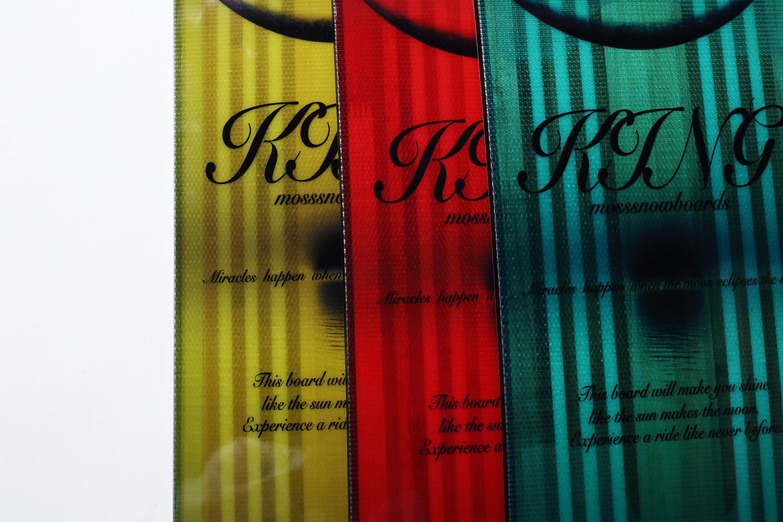 ティント(透明)カラーを採用し、従来のマットブラックのイメージから一新。RED=KING、CABALLERO=GREEN、CABALLERO FX=YELLOWとモデルごとに美しい3カラーで区別される
