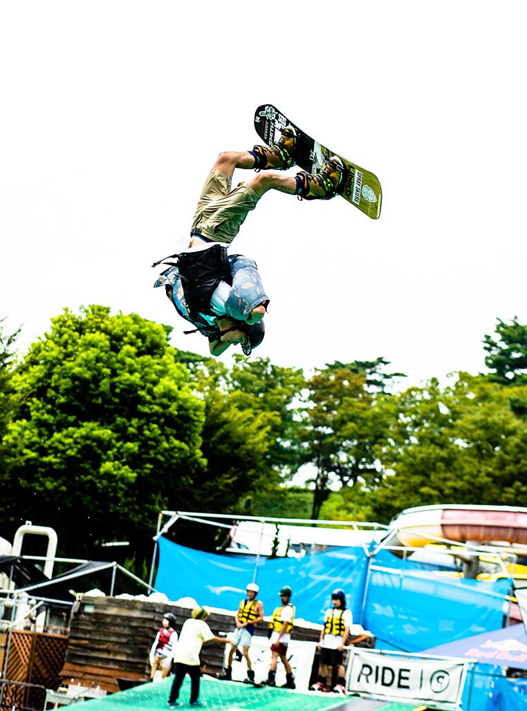 西武園ゆうえんちWater Jump S-airが今回のイメベント会場