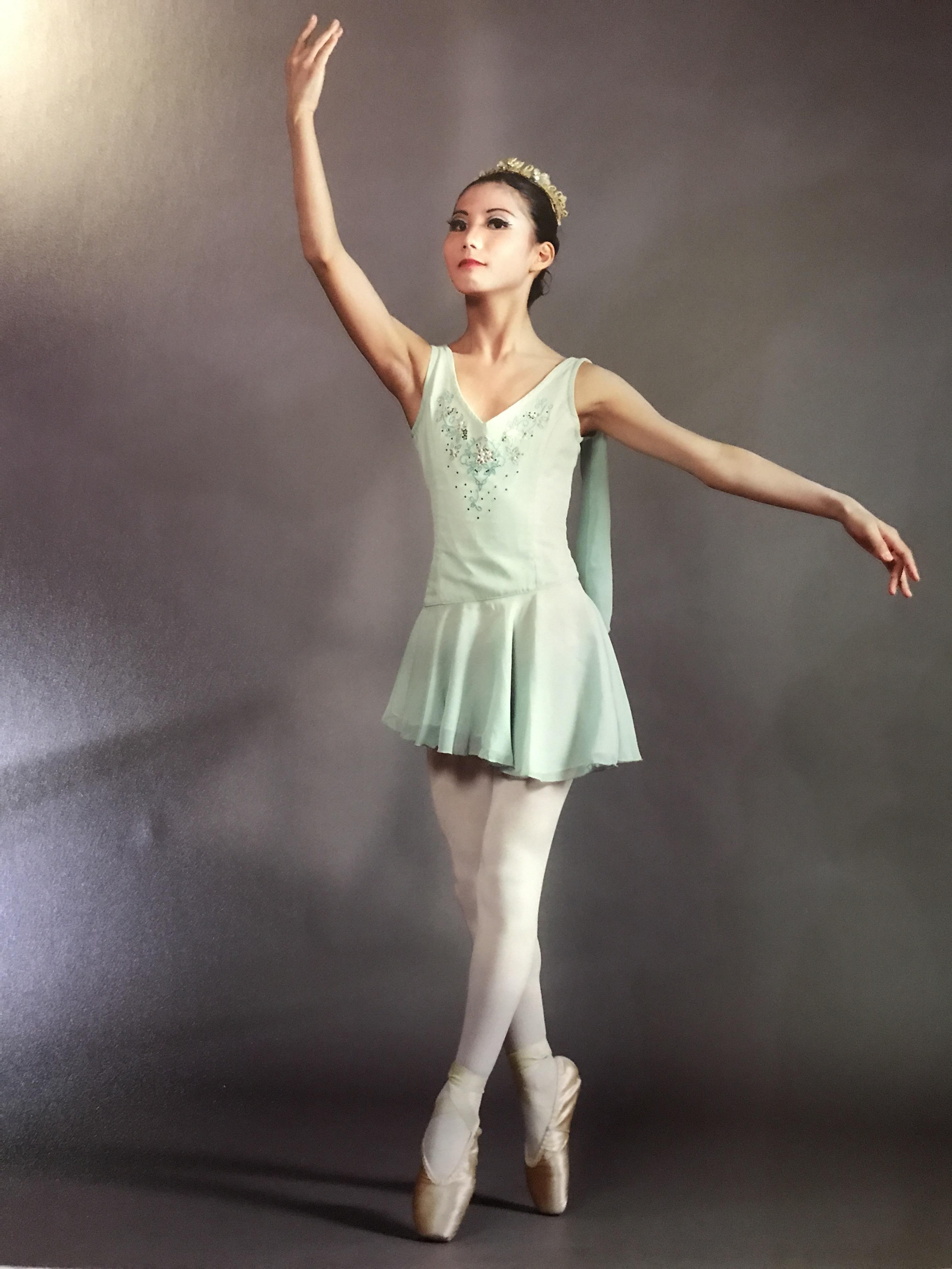 バレエの練習も頑張っていた頃のみさ