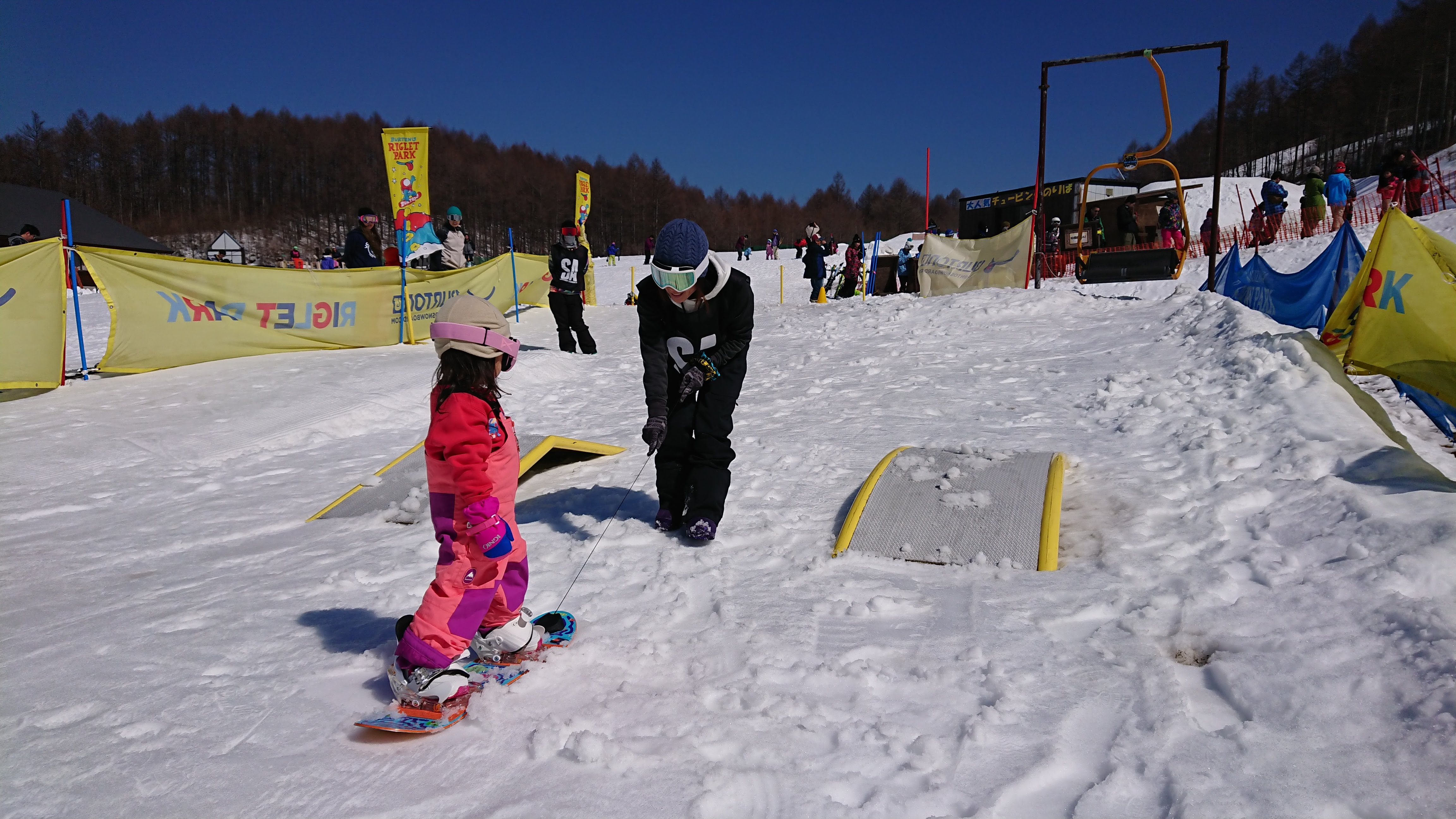 BURTON KID'S RIGLET SCHOOL@軽井沢スノーパーク