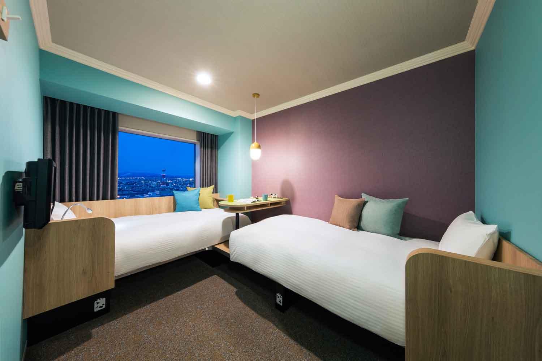 ▲DANRAN Room 小さな団らんをイメージし、遊び心を散りばめたコンセプトルーム。他にも様々なタイプの客室があり、旅のスタイルに合わせて選択できる