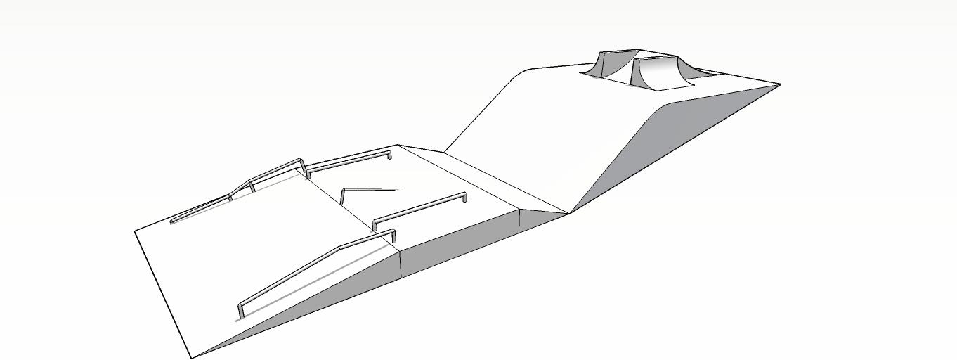 今期のグローバルパークの完成イメージ