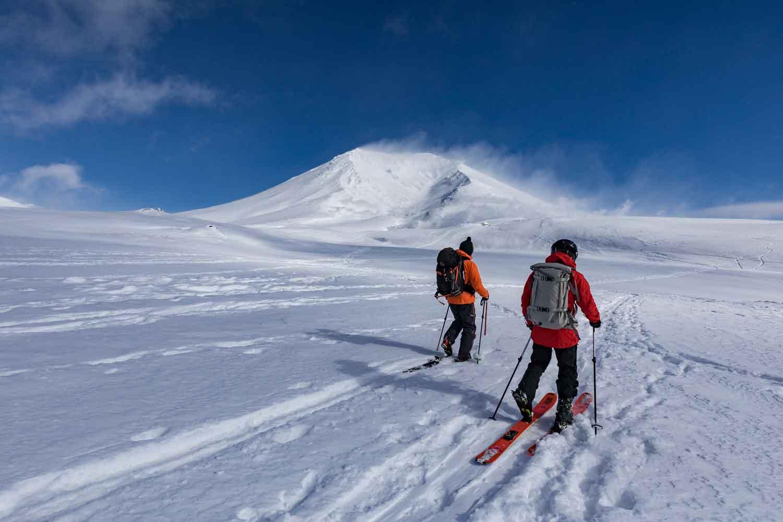 ▲旭岳スキーコース