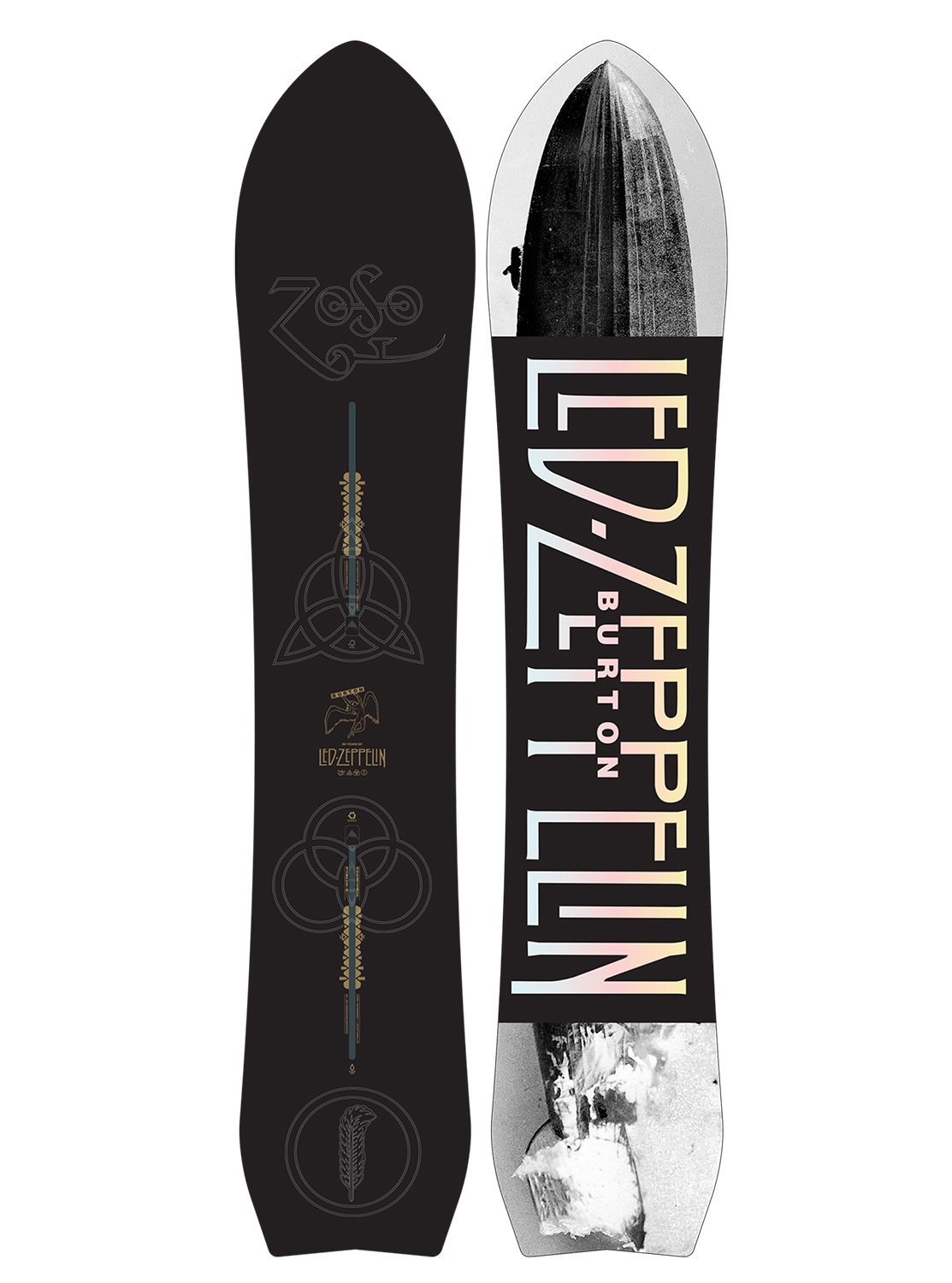 Led Zeppelin x Burton Misty Mountain Hop Snowboard