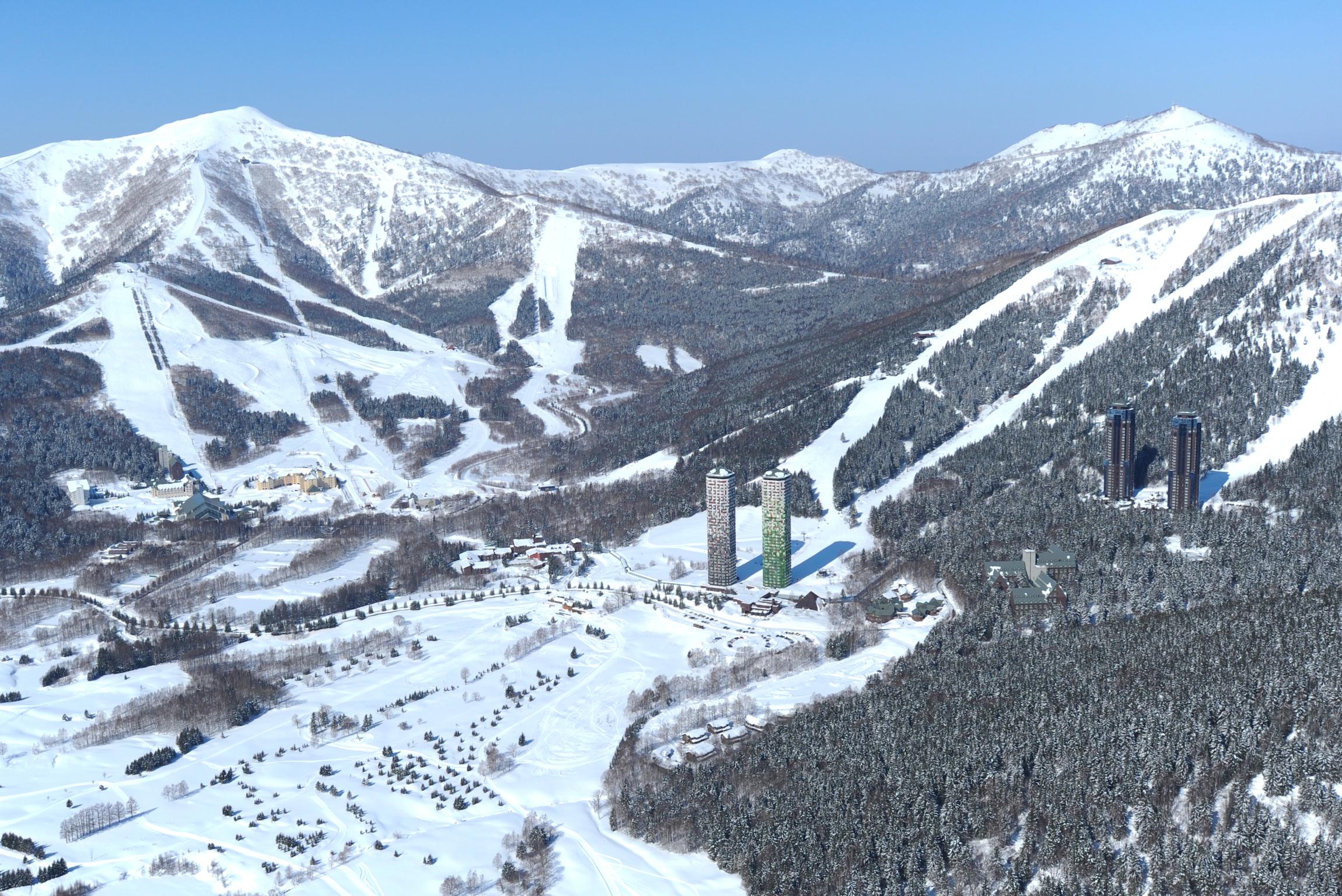 【トマム】スキー場全景