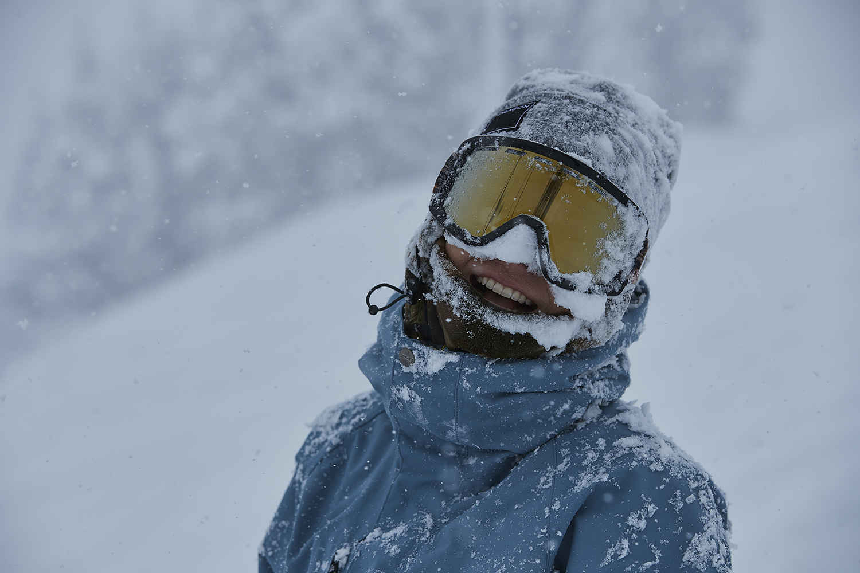 サイコーの雪とサイコーの環境が生み出した、サイコーの笑顔