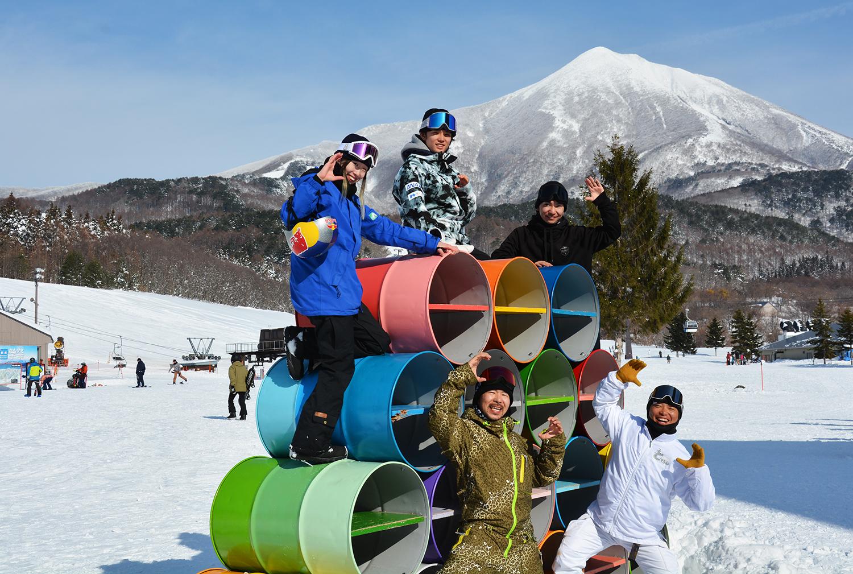 この日グローバルパークに練習に来ていた鬼塚 雅、稲村奎汰、國武大晃、世界クラスのライダーと共に、C〜〜