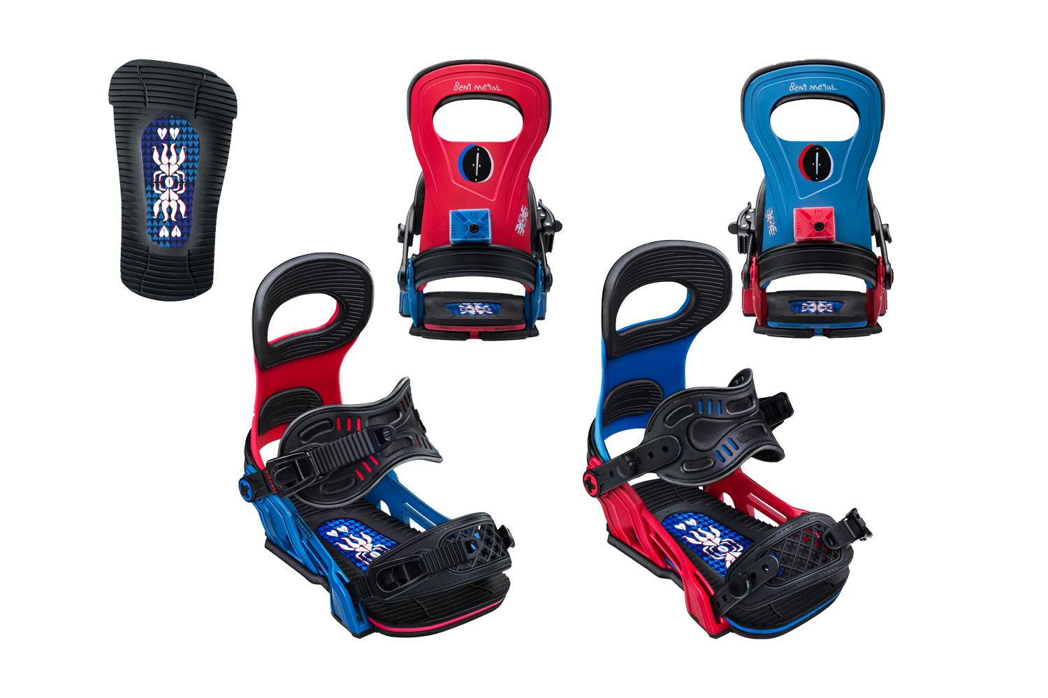 FOREST BAILY (Blue / Red)