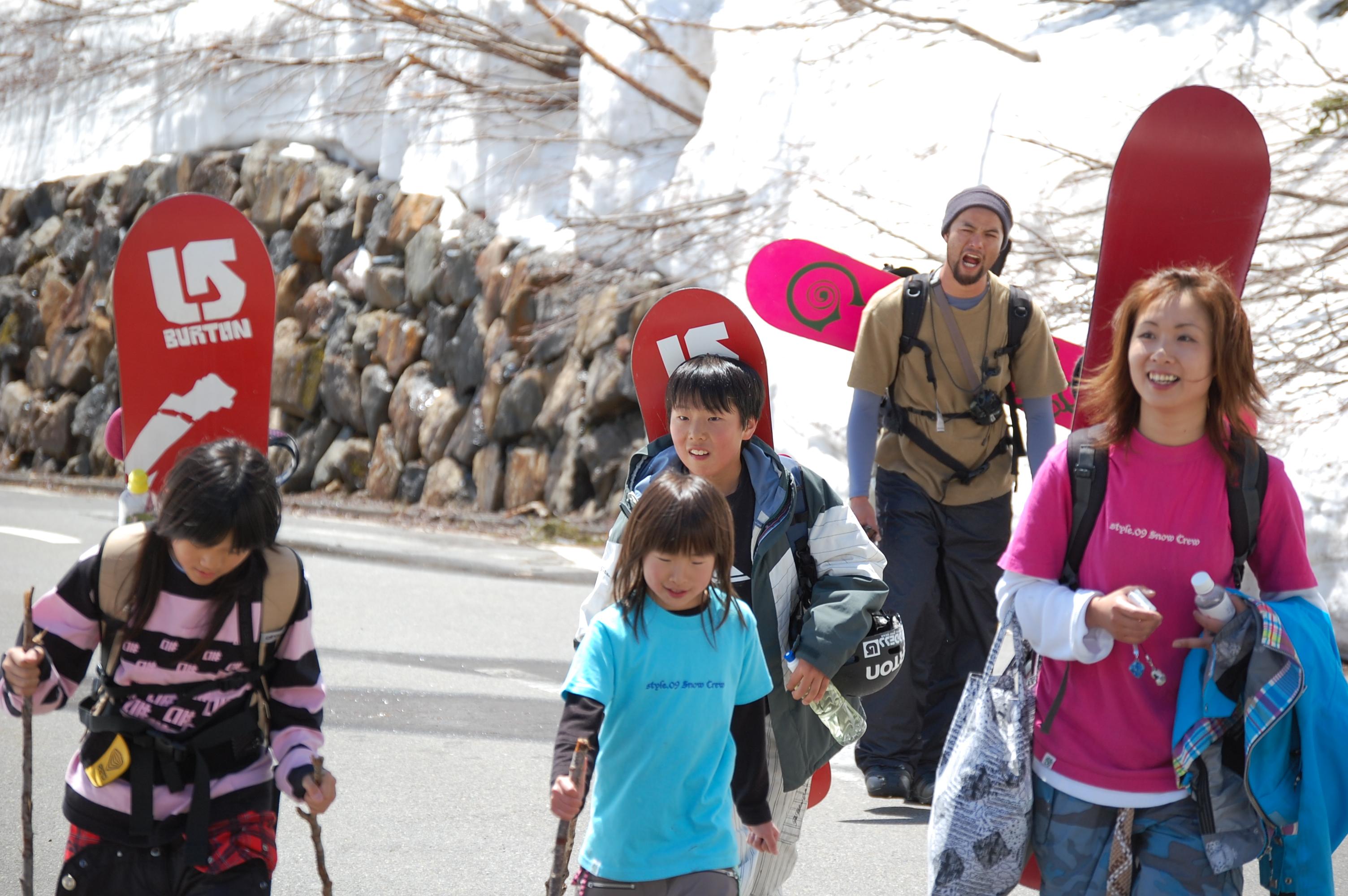 SUPER KIDS SESSION (撮影会)/乗鞍岳