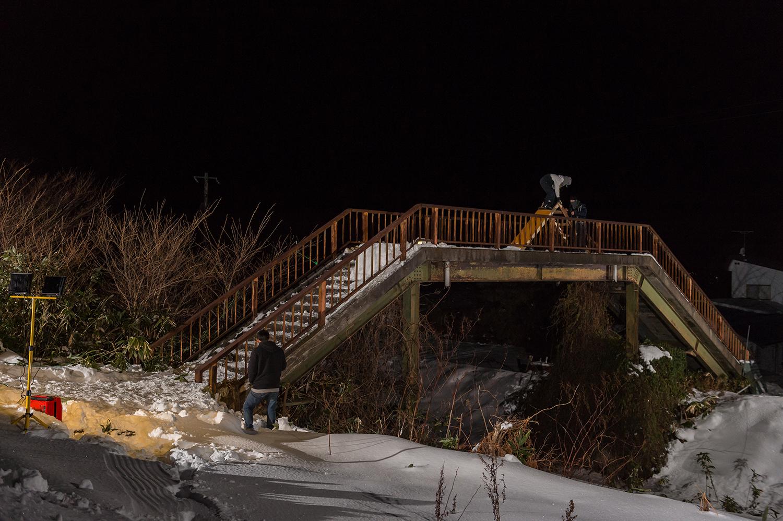 陸橋の上からのドロップ。みんなマナとのためにaiiforone